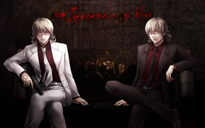 Picture light, art, dark, Tiger and Bunny, Barnaby, Tiger & Bunny