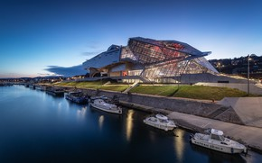 Picture France, Museum, Lyon, the Confluences, Museum merger