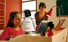 Picture honda, robot, asimo