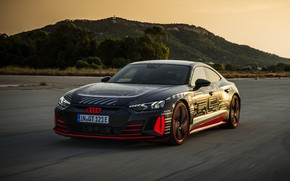 Picture Audi, coupe, hill, 2020, RS e-Tron GT Prototype