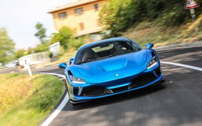 Picture speed, Ferrari, supercar, 2019, Tribute, Ferrari F8