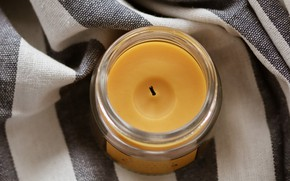 Picture comfort, candle, fabric