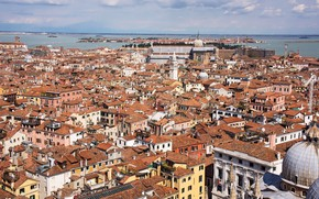 Picture Italy, Venice, the view from the top