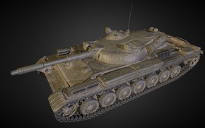 Picture Russia, T-100 LT, Experienced tank
