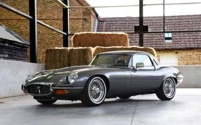 Picture sportcar, V12, Jaguar E-Type