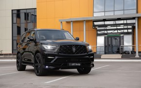 Picture SUV, Infiniti, running lights, Larte Design, QX80