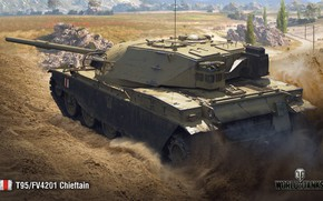 Picture WoT, World of Tanks, Wargaming, Chieftain, T95/FV4201