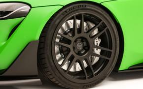Picture wheel, Toyota, Supra, 2019, GR Above, A90, SEMA 2019, Wasabi Concept