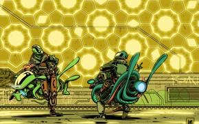 Picture Future, Robots, Fantasy, Art, Art, Robots, Fiction, Bike, Cyborg, Equipment, Cyborgs, Transport & Vehicles, Hoverbayk, …