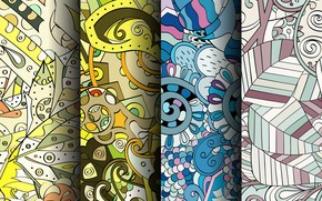 Picture background, texture, colorful, patterns, seamless