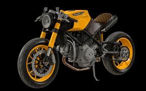 Picture design, transport, motorcycle, composite, WIP - Ducati Custom Café Fighter