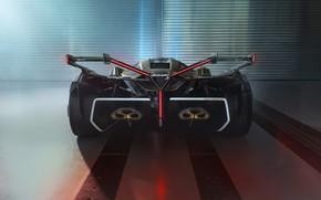 Picture Lamborghini, The concept car, Lambo, V12, Wing, Vision Gran Turismo, 2019, Lambo V12 Vision