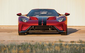Picture Ford, supercar, Ford GT, front view, 2017, H063, Beryllium Orange