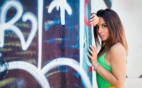 Picture look, model, hair, Stefania