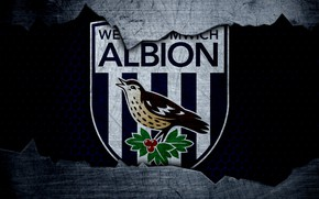 Picture wallpaper, sport, logo, football, West Bromwich Albion