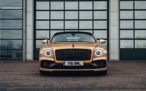 Picture Bentley, front view, Flying Spur, 2020, V8, 2021, Flying Spur V8