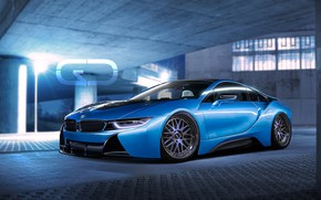 Picture Auto, Blue, BMW, Machine, BMW i8, Christer Stormark, by Christer Stormark, Transport & Vehicles, Clean …