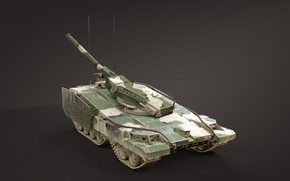 Picture USSR, Object 490, Experienced tank