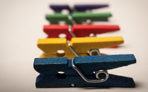 Picture background, color, clothespins