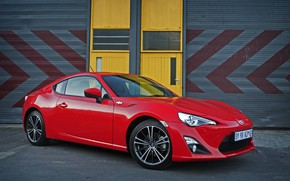 Picture red, Toyota