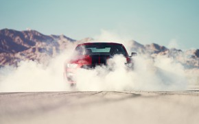 Picture smoke, Mustang, Ford, Shelby, GT500, bloody, 2019