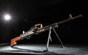 Picture Russia, Experienced, A single machine gun, V. I. Silin and V. F. Perruchet, TKB-464