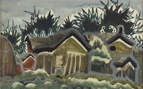 Picture 1917, Charles Ephraim Burchfield, Twilight Gloom