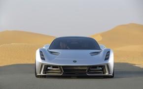 Picture Road, Lotus, Lights, Supercar, 2020, Electric car, Evia, Lotus Evija