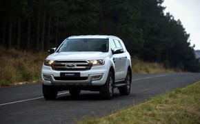 Picture Ford, Everest, on the road, 2015, XLT