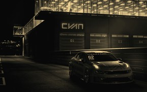Picture 2018, WTCR, Lynk & Co, 03 Cyan Concept, the building