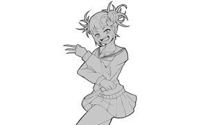 Picture girl, mediocrity, My hero Academy, My Hero Academia, Boku No Hero Academy, Toga Himiko, Toga …