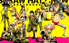 Picture anime, One Piece, characters