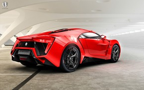 Picture Red, Machine, Supercar, Rendering, Concept Art, Sports car, Lykan, Game Art, Transport & Vehicles, Benoit …