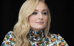 Picture portrait, actress, celebrity, Sophie Turner