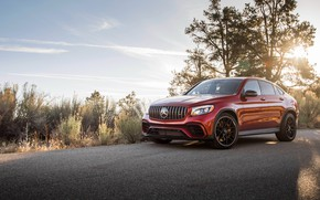 Picture Mercedes-Benz, AMG, Coupe, 2018, crossover, GLC, 63S, 4MATIC+