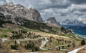 Picture mountains, serpentine, dorgu