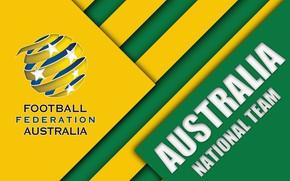 Picture Logo, Football, Australia, Soccer, Emblem, Australia National Soccer Team, AFC