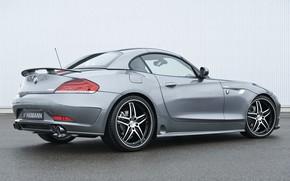 Picture grey, BMW, Roadster, Hamann, 2010, drives, E89, BMW Z4, Z4, pipes