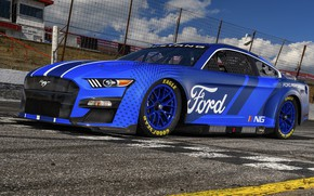 Picture Mustang, Ford, Ford Mustang, racing track, NASCAR, 2021