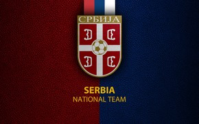 Picture wallpaper, sport, logo, football, Serbia, National team