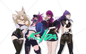 Picture Girl, Minimalism, Style, Asian, Girl, Art, Art, Asian, Style, Akali, League of Legends, LoL, Ahri, …
