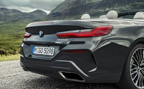Picture BMW, convertible, the rear part, xDrive, G14, 8-series, 2019, Eight, M850i Convertible