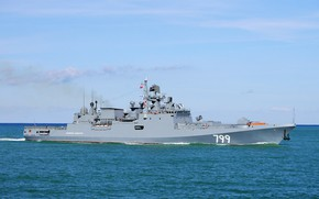Picture ship, the black sea, frigate, Navy, guard, Admiral Makarov