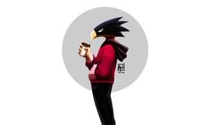 Picture guy, My Hero Academia, Boku No Hero Academy, Tokoyami Fumikage, My Hero Academy, Tokoyami Foliage
