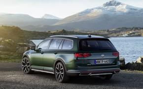 Picture Volkswagen, ass, universal, Passat, dark green, Alltrack, 2019
