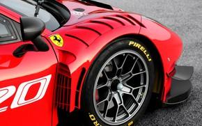 Picture wheel, Ferrari, sports car, Evo, GT3, 488, Ferrari 488
