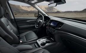 Picture interior, Honda, pickup, 2020, Ridgeline, 2021