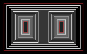 Picture background, dark, figure