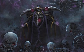 Picture Overlord, The Lord, undead