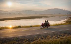 Picture motorbike, honda gold wing, honda gl1800